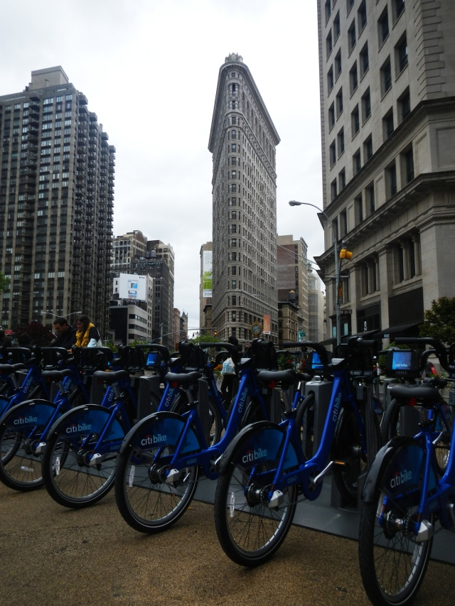 citibikes flatiron