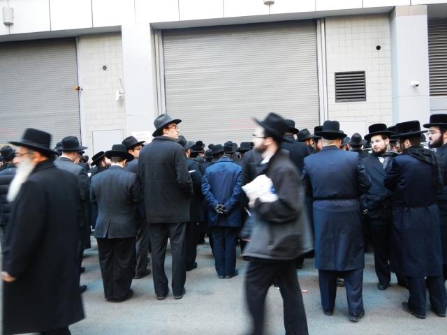 Hasidic wall